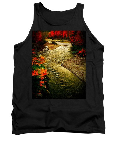 Tank Top featuring the photograph Stream by Bill Howard