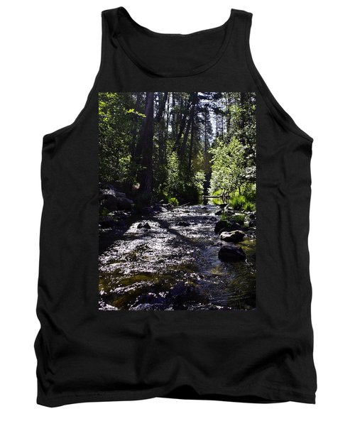 Tank Top featuring the photograph Stream by Brian Williamson