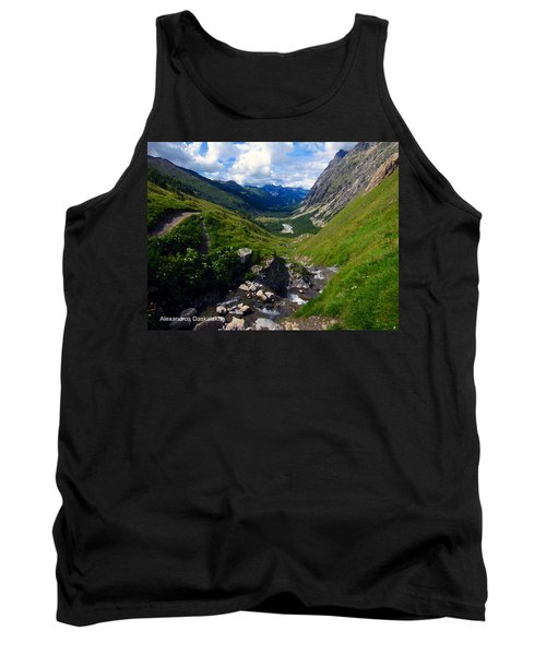 Stream In A Valley Tank Top