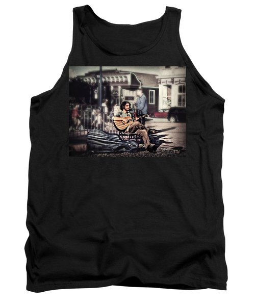 Street Beats Tank Top by Melanie Lankford Photography