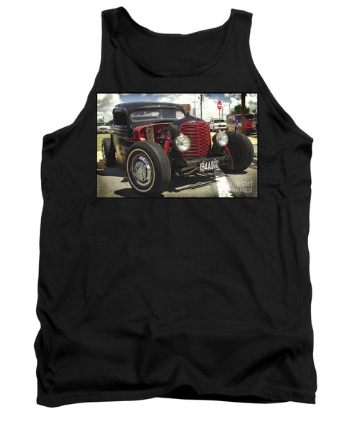 Tank Top featuring the photograph Street Rod Truck by James C Thomas