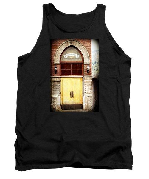 Street View Tank Top by Melanie Lankford Photography