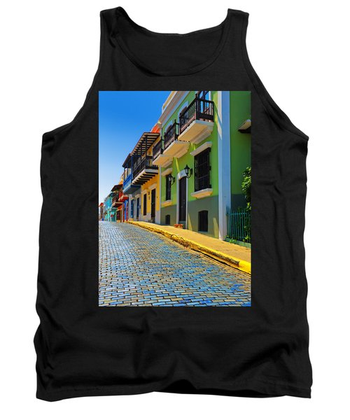Streets Of Old San Juan Tank Top
