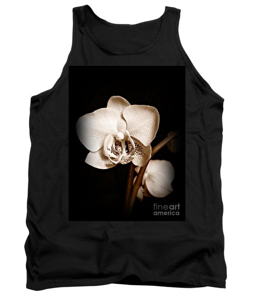 Strength And Beauty Sepia Tank Top by Chalet Roome-Rigdon