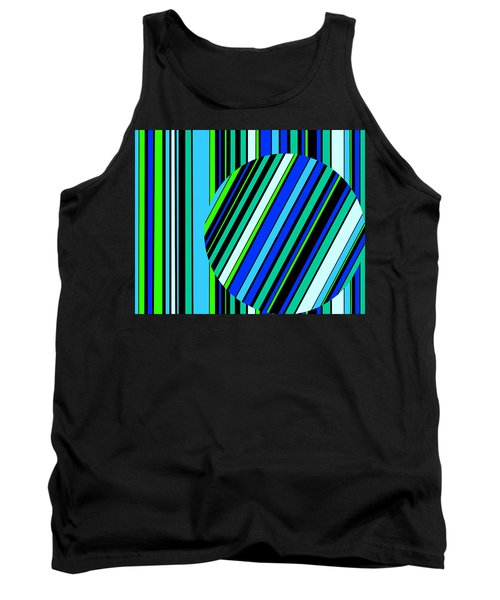 Striped Circle  C2014 Tank Top
