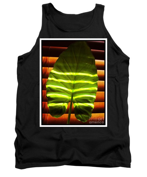 Tank Top featuring the photograph Stripes Of Light by Nina Ficur Feenan