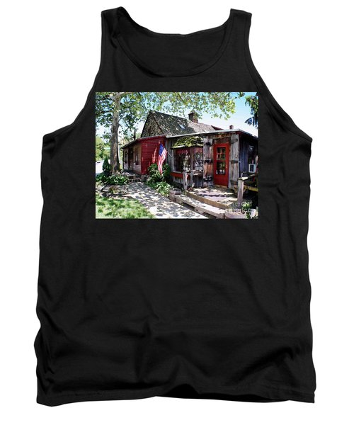 Tank Top featuring the photograph Strode Mill West Chester Pa by Polly Peacock