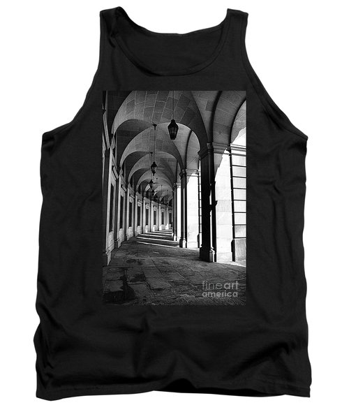 Tank Top featuring the photograph Study In Black And White by John S