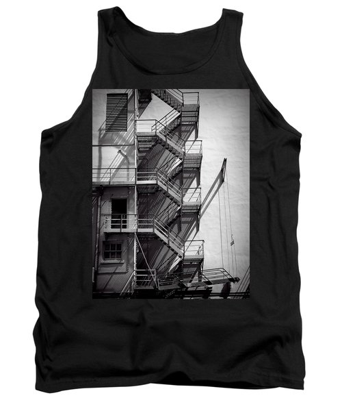 Study Of Lines And Shadows Tank Top