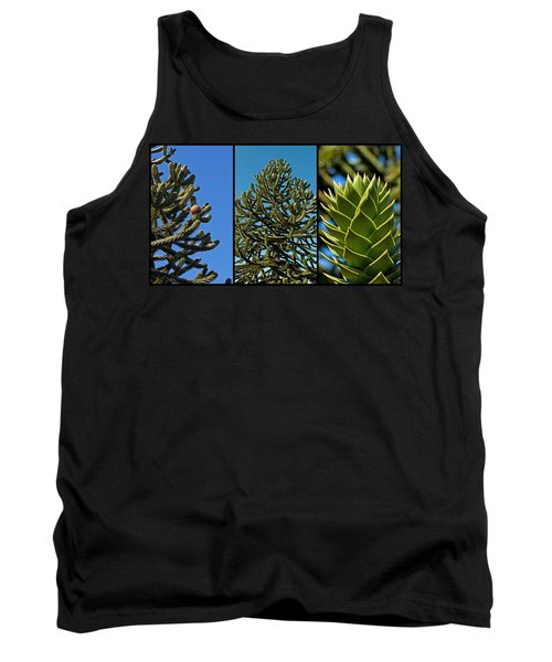 Study Of The Monkey Puzzle Tree Tank Top
