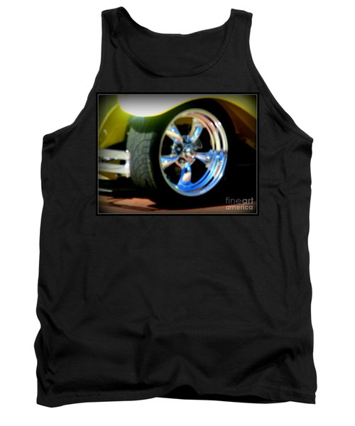 Tank Top featuring the photograph Stylin' Wheels by Bobbee Rickard
