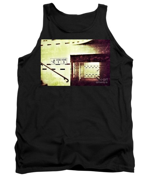Tank Top featuring the photograph Subway  by Nick  Biemans