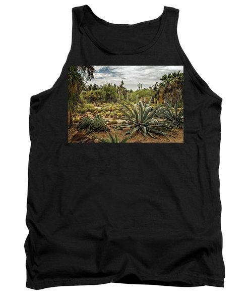 Succulents At Huntington Desert Garden No. 3 Tank Top