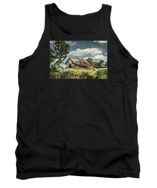 Tank Top featuring the photograph Summer Barn by Debbie Green
