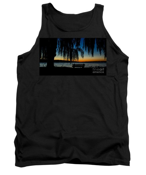 Summer Evening At Stewart Park Tank Top
