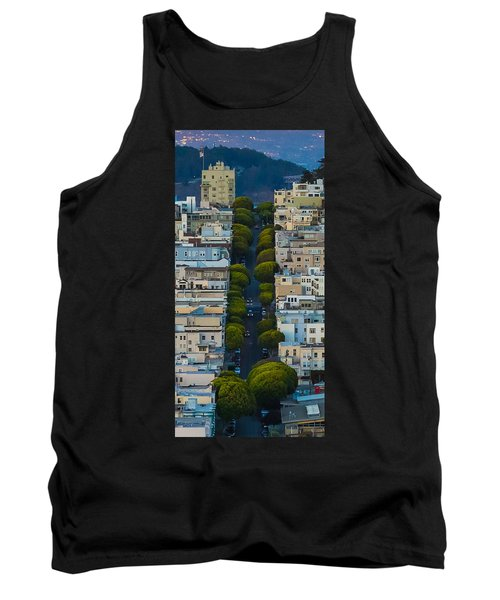 Summer Green On Lombard Street Tank Top
