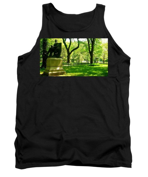 Summer In Central Park Manhattan Tank Top