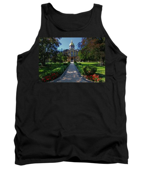 Summer On Notre Dame Campus Tank Top
