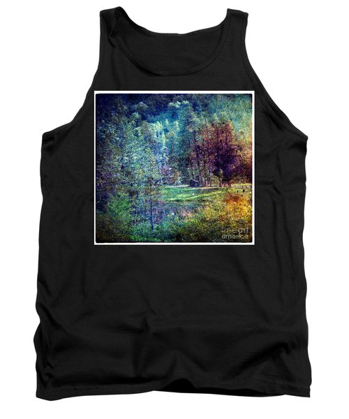 Summertime In Vail Tank Top by Madeline Ellis