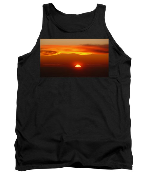 Sun Fire Tank Top by Evelyn Tambour
