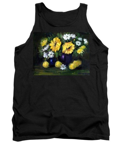 Sun Flowers Tank Top