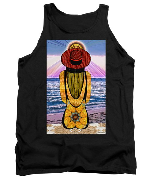 Sun Girl's Back Tank Top