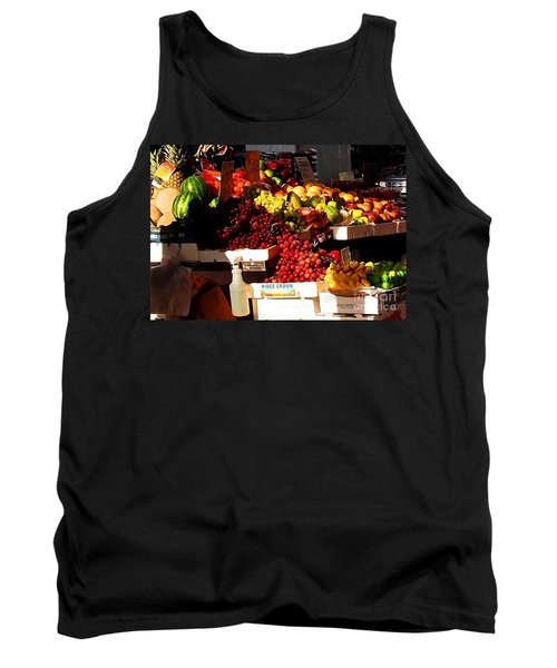 Tank Top featuring the photograph Sun On Fruit Close Up by Miriam Danar