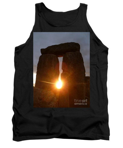 Tank Top featuring the photograph Sunburst by Vicki Spindler