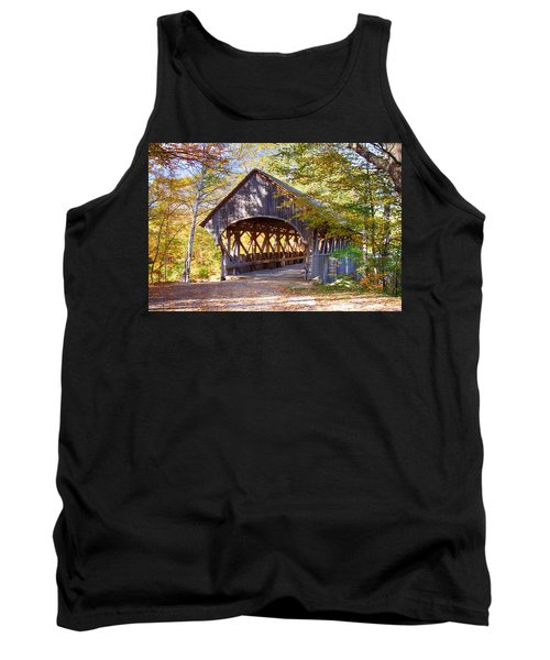 Sunday River Covered Bridge Tank Top