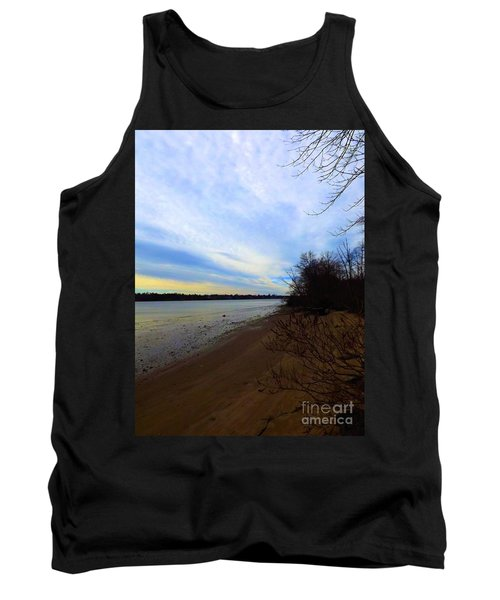 Sundown By The Side Of The River Tank Top