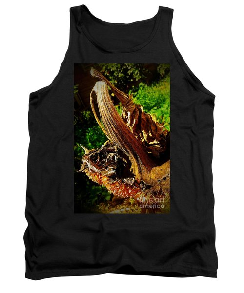 Tank Top featuring the photograph Sunflower Seedless 2 by James Aiken