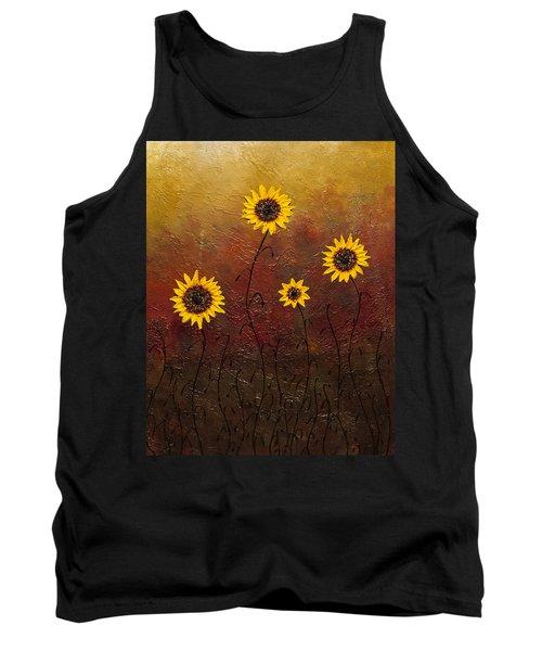Sunflowers 3 Tank Top