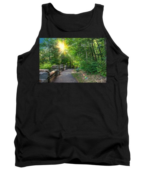 Sunlit Path Tank Top