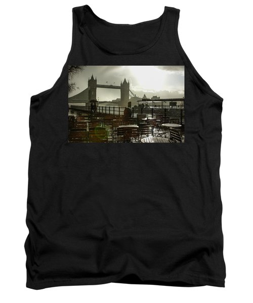 Sunny Rainstorm In London - England Tank Top