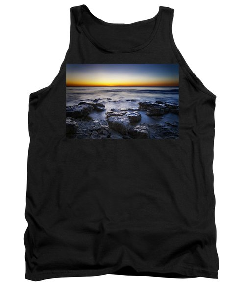 Sunrise At Cave Point Tank Top