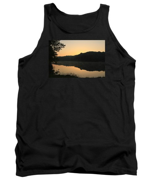 Tank Top featuring the photograph Sunrise At Rose Lake by Julie Andel