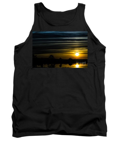 Tank Top featuring the photograph Sunrise In Virginia by Angela DeFrias