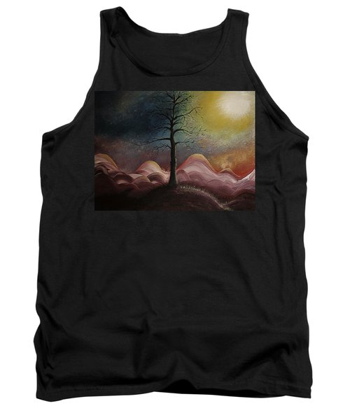 Sunrise Over The Mountains Tank Top by Gray  Artus