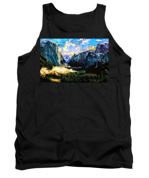 Sunrise Yosemite Valley Nationalpark Tank Top