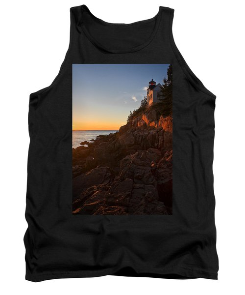 Sunset At Bass Head   Tank Top by Priscilla Burgers