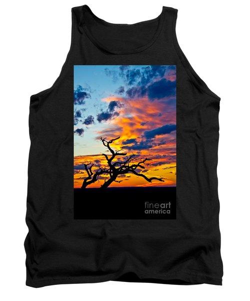 Sunset At Enchanted Rock Tank Top