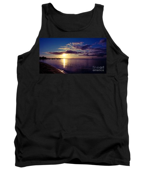 Sunset At Monkey Mia Tank Top