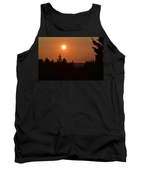 Sunset At Owl's Head Tank Top