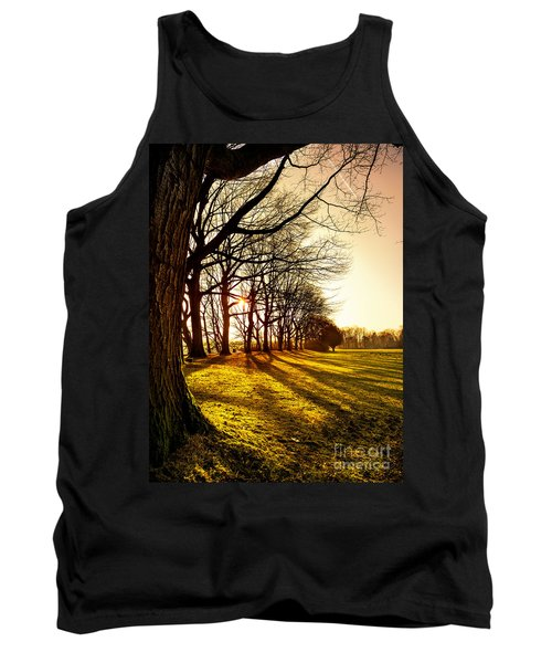 Sunset At The Park Tank Top