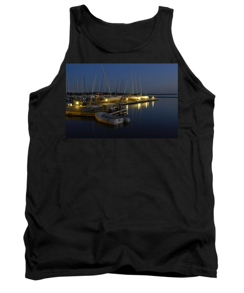 Sunset Dock Tank Top
