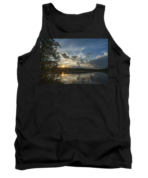 Sunset Double Trouble State Park Nj Tank Top