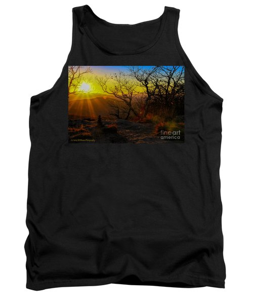Sunset From Blood Mountain Tank Top