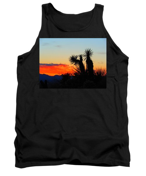 Sunset In Golden Valley Tank Top