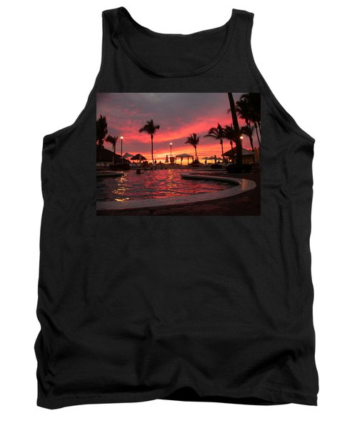 Sunset In Paradise Tank Top