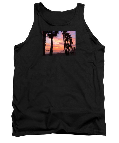 Sunset In San Clemente Tank Top